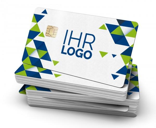 MIFARE® Classic + Kontaktchip HYBRID-KARTE